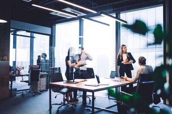 occupancy sensors in office