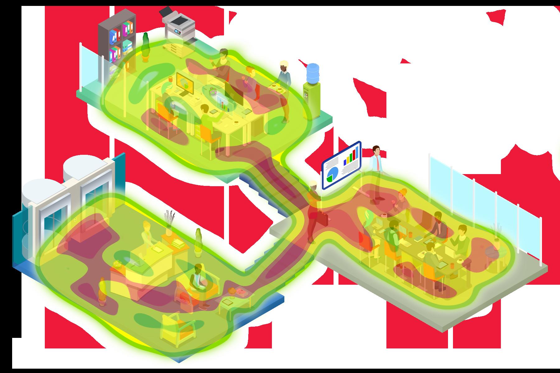 Office Heat Map